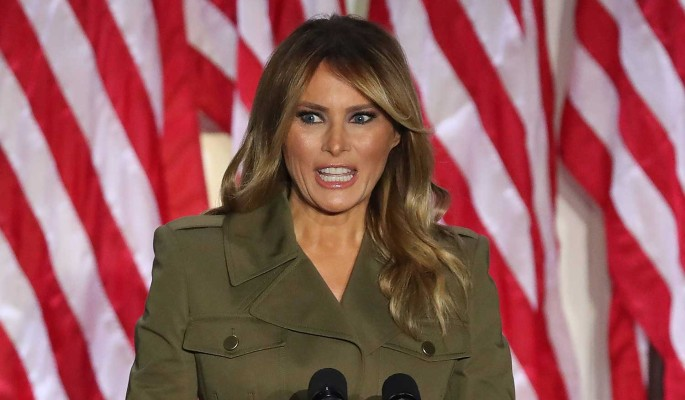50-летняя Меланья Трамп произвела фурор в Белом доме
