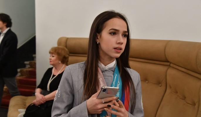 Алина Загитова опозорилась в эфире Первого канала