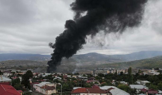 Бойню в Карабахе назвали войной Турции против России