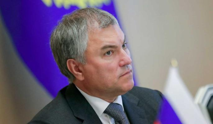 Володин посоветовал Европе обратиться к опыту России по борьбе с коронавирусом