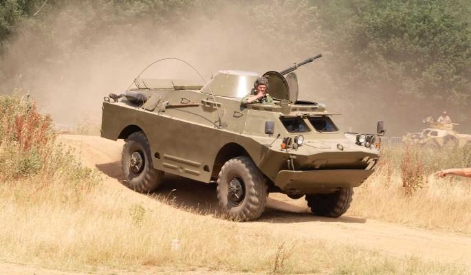 В ЦАР высоко оценили подаренные Россией БРДМ-2