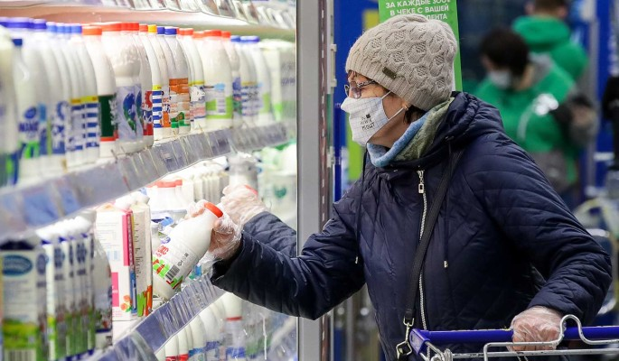 В России подскочили цены на продукты