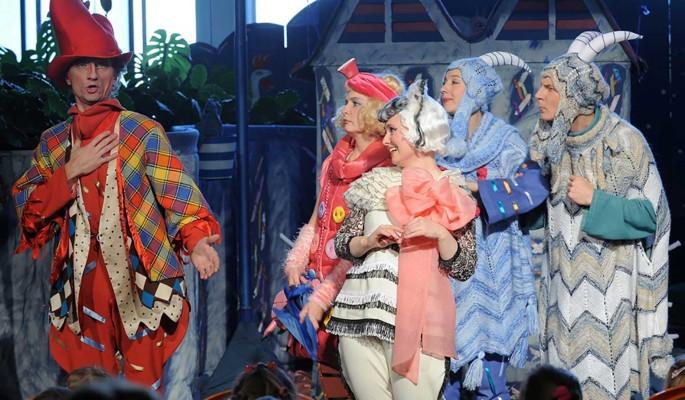 Спектакли для самых маленьких в Театре Наталии Сац в ноябре