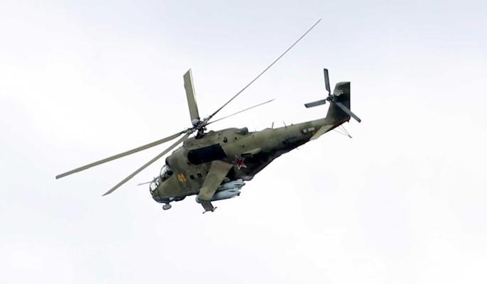 В Армении сбили российский военный вертолет