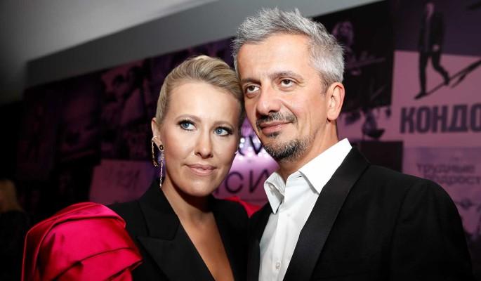 Ксения Собчак и Константин Богомолов. Фото: Артем Геодакян/ТАСС
