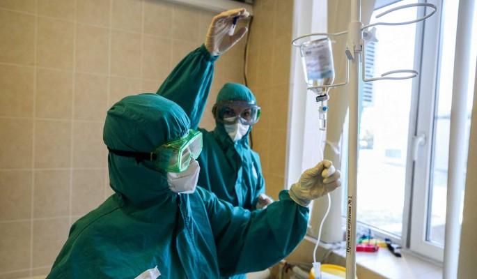 Суточный прирост заразившихся коронавирусом в России составил 24,3 тысячи