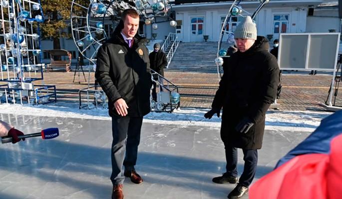 Дегтярев взял на контроль подготовку Хабаровского края к Новому году