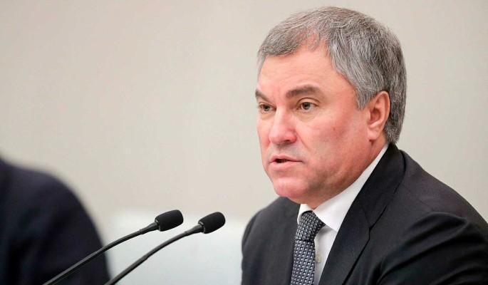 Володин анонсировал новый законопроект о защите детей