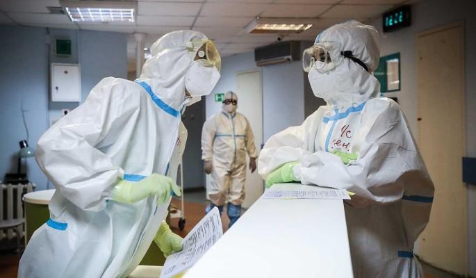 Суточный прирост заразившихся COVID-19 в России снизился
