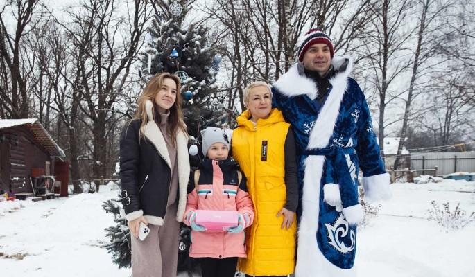 Активисты ОНФ устроили новогодний праздник в благотворительном приюте