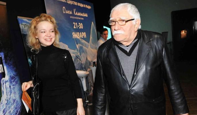 Цымбалюк-Романовскую заметили на отдыхе с новым мужчиной после смерти Джигарханяна