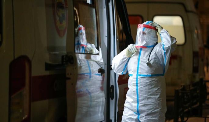 В России вновь снизился суточный прирост заразившихся COVID-19