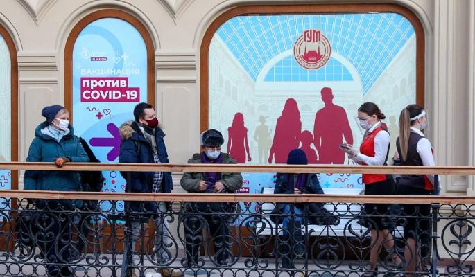 Москвичи смогут сделать прививку от коронавируса в торговых центрах
