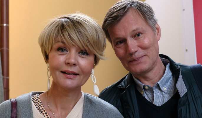 Юлия Меньшова показала редкий снимок с мужем