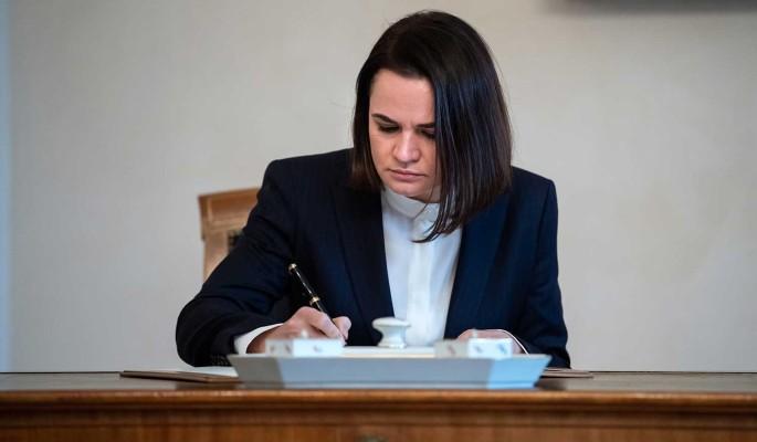 Тихановская отказалась от участия в следующих выборах президента Белоруссии