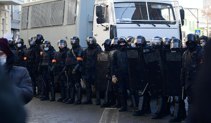 В СПЧ отметили корректное поведение полиции на акции в Москве