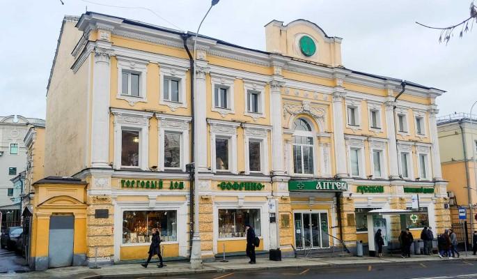 Здание старейшей аптеки Москвы поставили под охрану государства