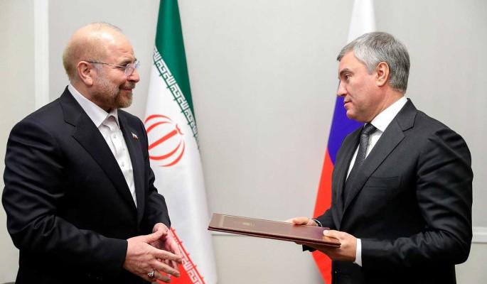Володин: Россия и Иран вместе борются с двойными стандартами