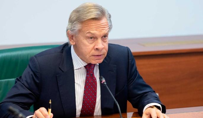 Пушков назвал высокомерной реакцию Запада на российскую вакцину: Пытается унизить Россию