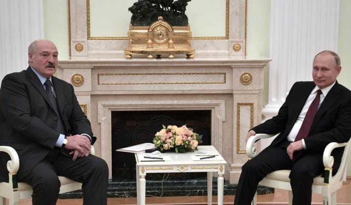 Лукашенко о разговоре с Путиным с глазу на глаз: Мы можем обсуждать наши проблемы в любой форме