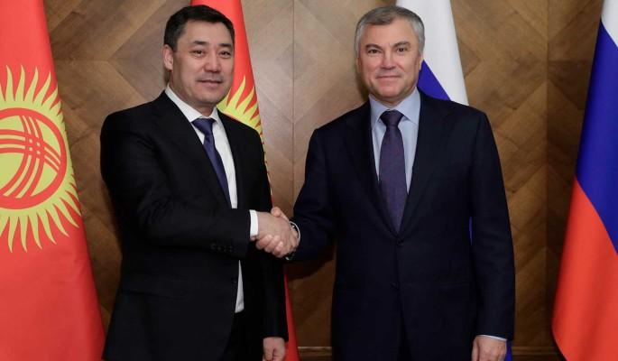 Володин: Выборы в Киргизии были более открытыми, чем в США