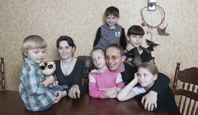 Дети Охлобыстина: шестеро по лавкам