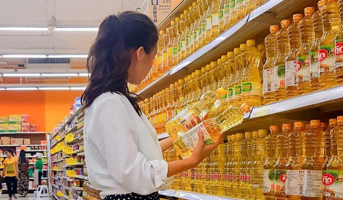 В России на время отказались от повышения цен на подсолнечное масло