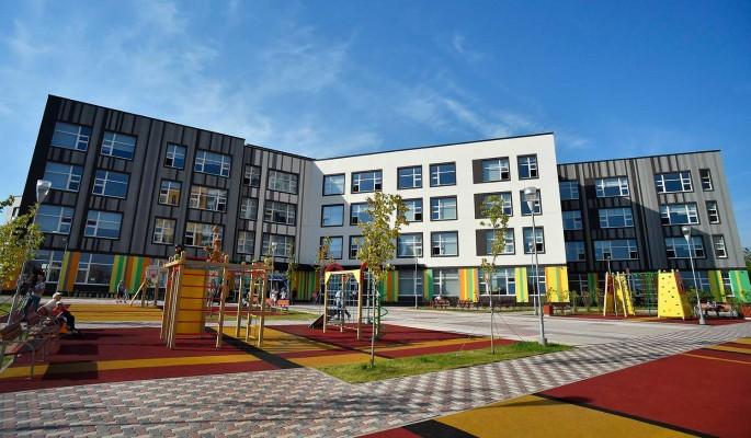 В Щукине строится современная школа по инновационным стандартам на 800 мест