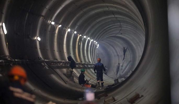 """Второй тоннель между БКЛ и депо """"Замоскворецкое"""" бурят на глубине до 22 метров"""