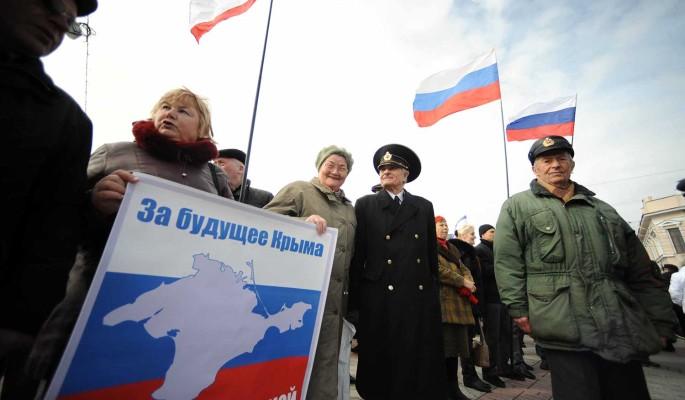 Воссоединение с Крымом положительно оценили более 80% россиян