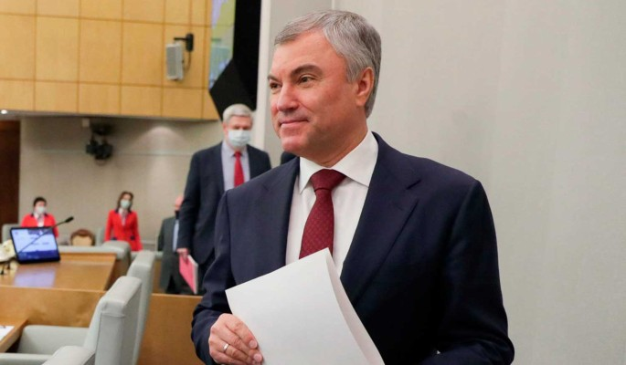 """Володин назвал плюсы законопроекта о """"гаражной амнистии"""" для миллионов людей"""