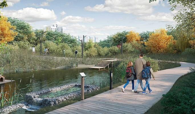 Собянин: Благоустройство поймы реки Яузы будет завершено в 2023 году