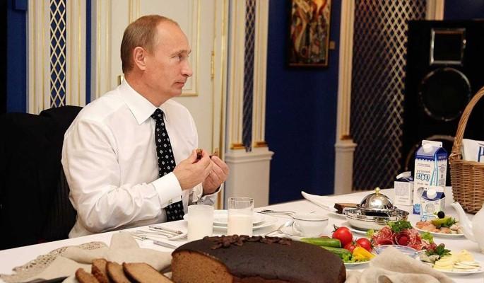 Песков рассказал о гастрономических предпочтениях Путина
