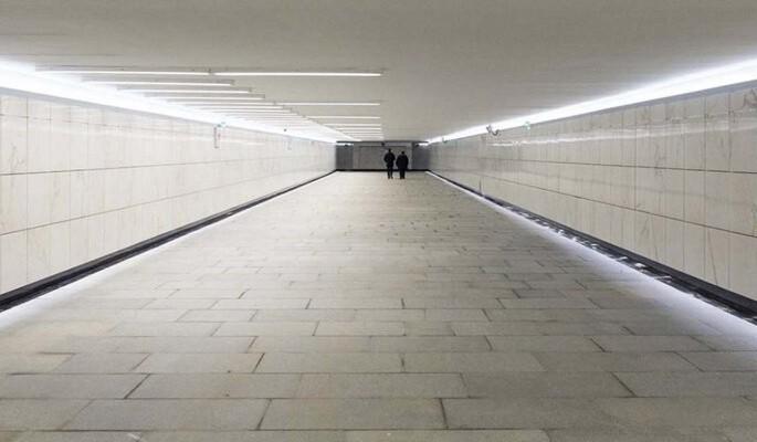 В Каширском проезде изменится подземный пешеходный переход