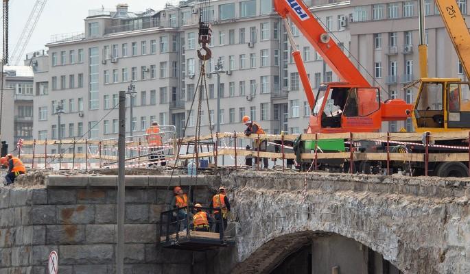 Большой каменный мост отремонтируют раньше срока