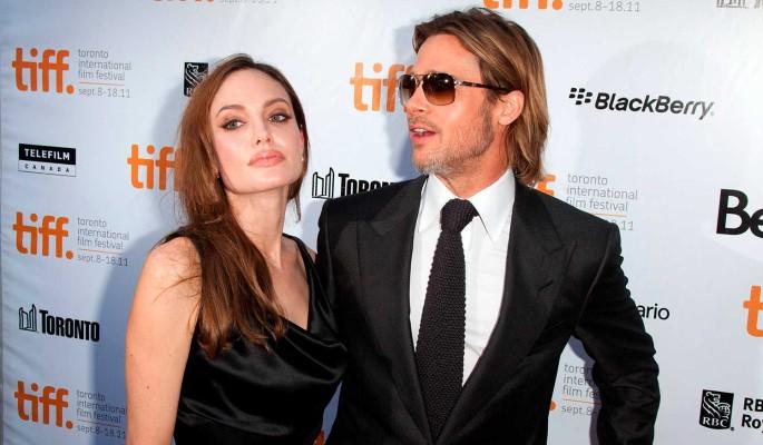 Несовершеннолетний сын Джоли стал прикладываться к бутылке