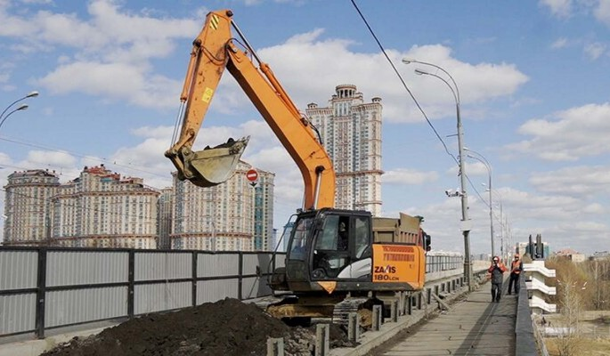 Капитальный ремонт Строгинского моста проведут меньше чем за год
