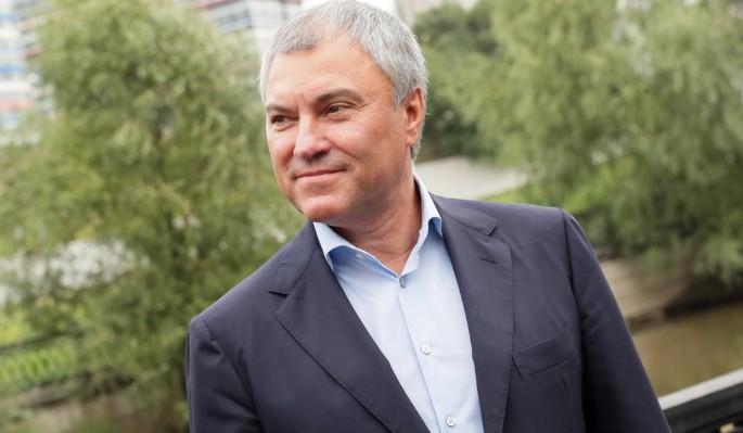 Володин: ситуация с Zoom в России подтверждает правильность политики импортозамещения в сфере IT