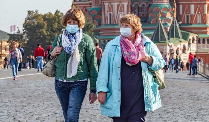 В России за сутки выявили более 9 тысяч новых случаев заражения COVID-19