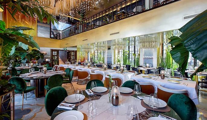 Гастрономический ресторан на Патриарших прудах в Москве посвятили пресноводной экосистеме