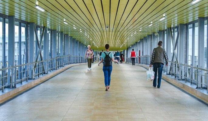 Возле станций МЦД-2 Красный Балтиец и Гражданская построят пешеходные переходы