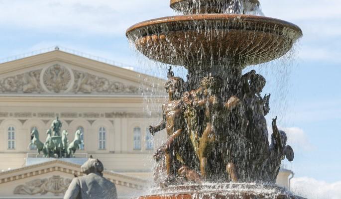 Один из старейших фонтанов Москвы ждет реставрация
