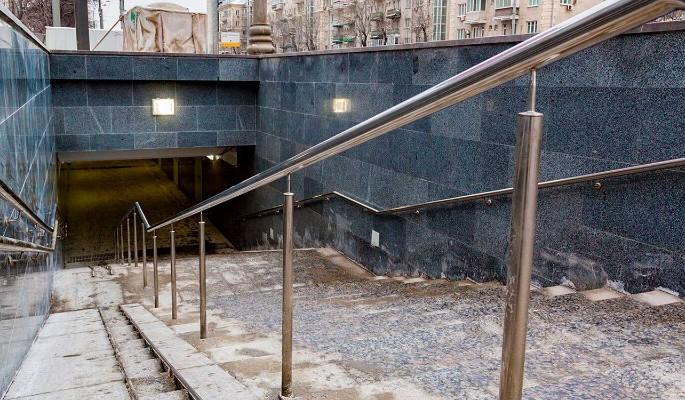 Капремонт пешеходного тоннеля у Московского ипподрома завершен