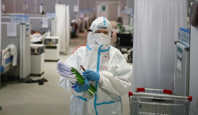 Число заразившихся коронавирусом россиян за сутки выросло на 8,9 тысячи
