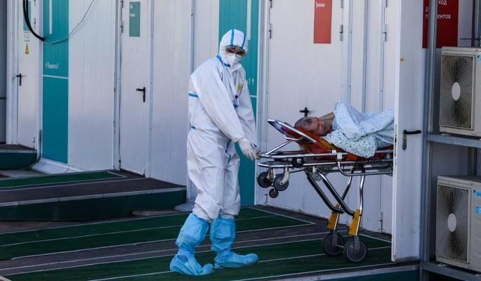В России за сутки выявили 8,1 тысячи новых больных COVID-19