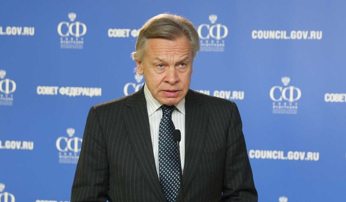 """""""Всему миру все ясно"""": сенатор Пушков ответил """"толстокожим"""" США"""
