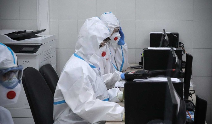 Суточный прирост заразившихся COVID-19 в России составил 8 840