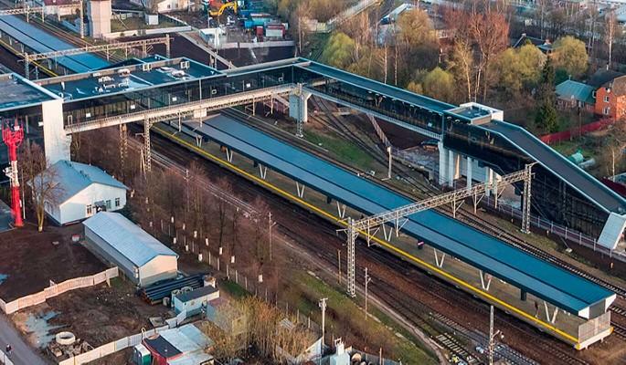 Собянин открыл современный пригородный вокзал на месте старой станции Внуково