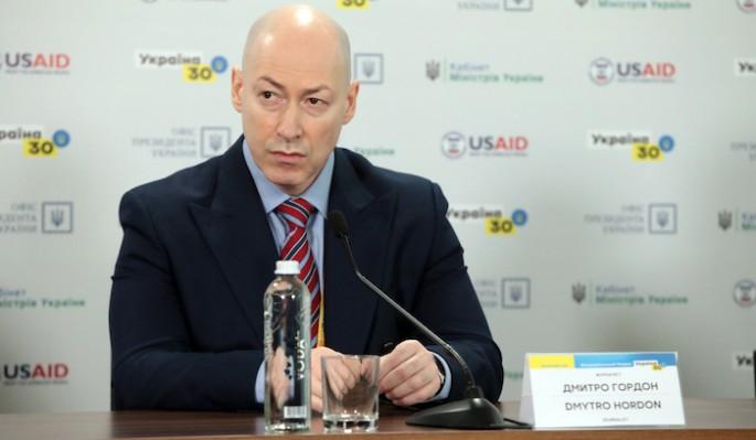Украинский журналист Гордон отчитал Зеленского за коррупцию