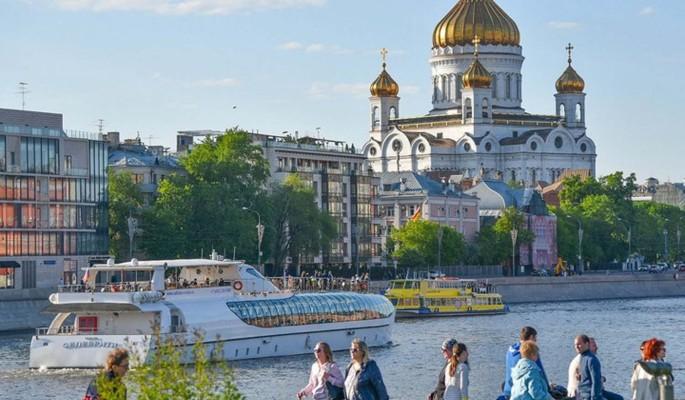 Электрические речные трамваи запустят в Москве